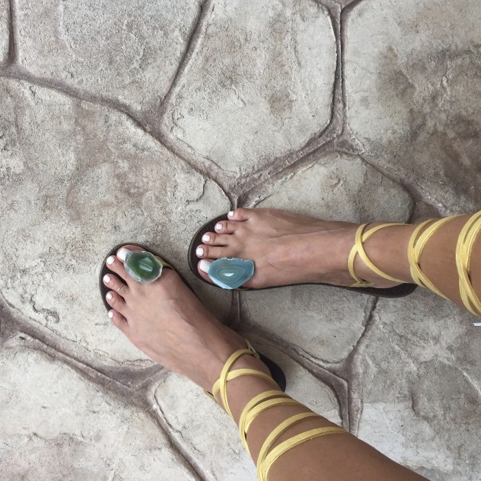 Shop The Rebel Sandal Strap Up by Jamaican Sandal Company